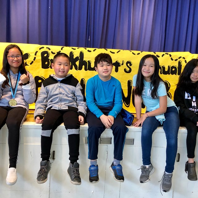 Brookhurst Spelling Bee Participants